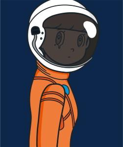 JINGART2021_1_Yuya-HASHIZUME_eyewater-ver.-space-suit-Orange1