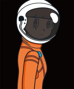 JINGART2021_3_Yuya-HASHIZUME_eyewater-ver.-space-suit-Orange3