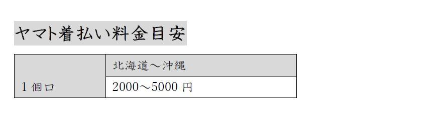 shippingCostList_Japan