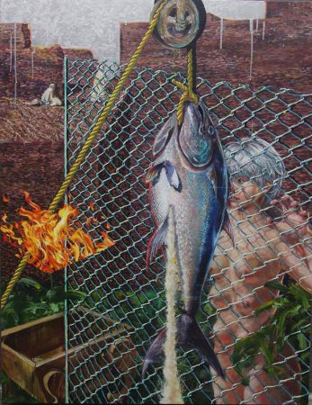 Executed tuna or executed by tuna