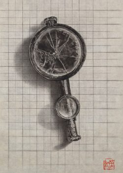 Coordinate -Folding Loupe and Compass-
